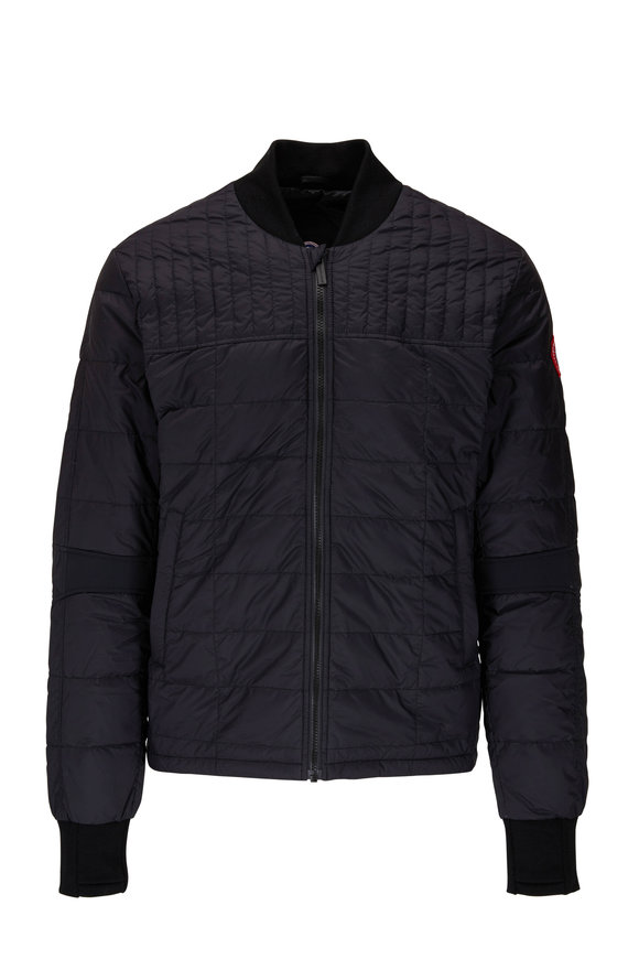 Canada Goose Dunham Black Quilted Jacket