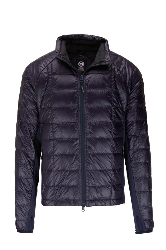 Canada Goose Navy Hybridge Light Jacket