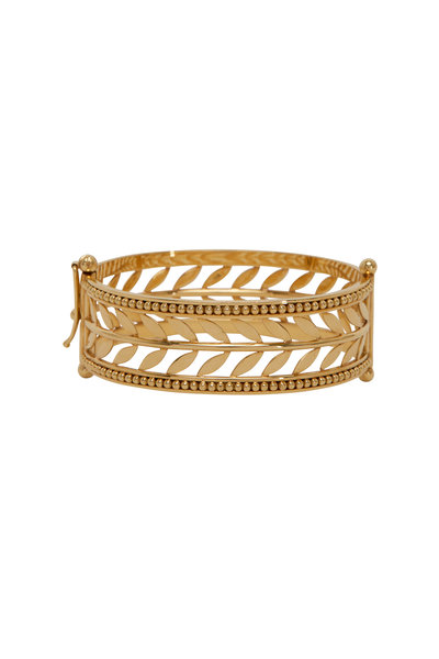 Temple St. Clair - 18K Yellow Gold Cuff Bracelet