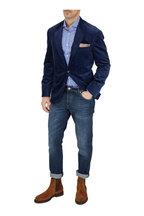 Brunello Cucinelli - Blue Sea Island Corduroy Sportcoat