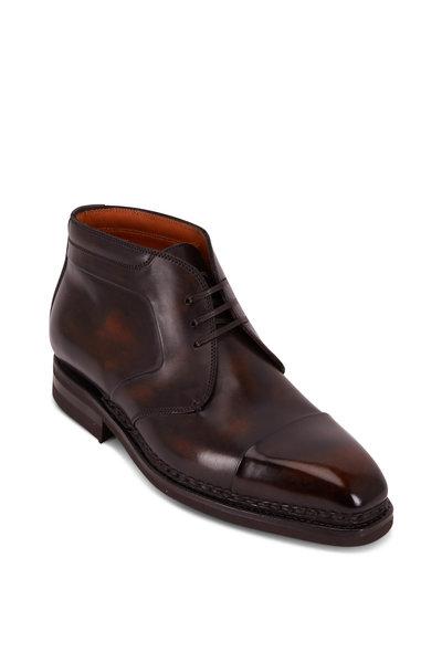 Bontoni - Cacciatore Rivolta Leather Lace-Up Boot