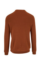 Ermenegildo Zegna - Copper Wool & Cashmere Crewneck Pullover