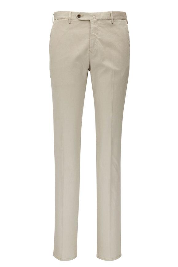 PT Torino Tan Superfine Stretch Slim Fit Pant