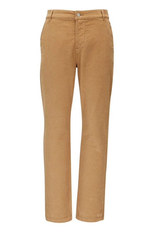 Hudson Clothing Blake Saddle Corduroy Slim Straight Jean