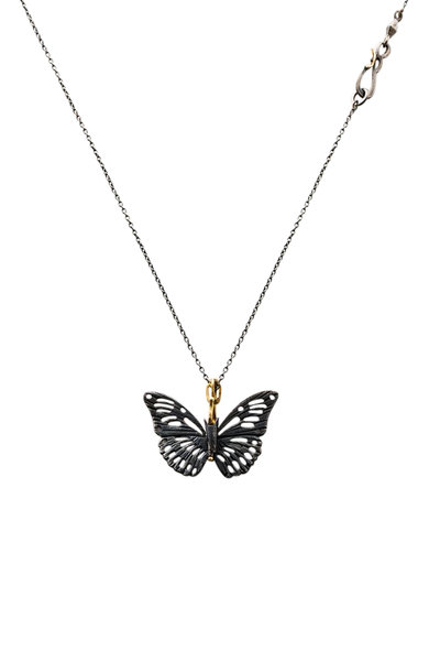 James Banks - Sterling Silver Monarch Necklace