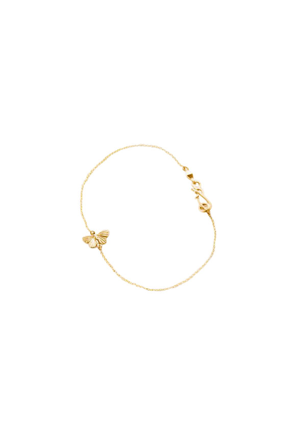 James Banks 18K Yellow Gold Tiny Asterope Bracelet