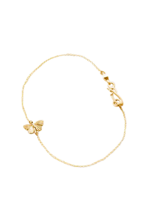 James Banks 18K Yellow Gold Tiny Baby Asterope Bracelet