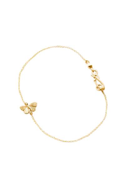 James Banks - 18K Yellow Gold Tiny Baby Asterope Bracelet