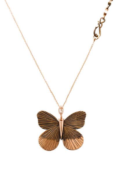 James Banks - Sterling Silver & Bronze Large Asterope Necklace