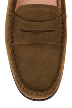 Tod's - City Gommini Military Suede Driver