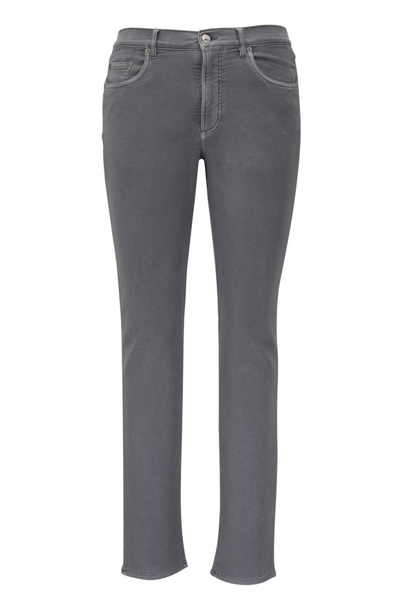 Faherty Brand Slate Stretch Terry Five Pocket Pant