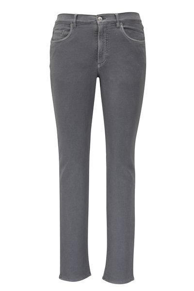 Faherty Brand - Slate Stretch Terry Five Pocket Pant