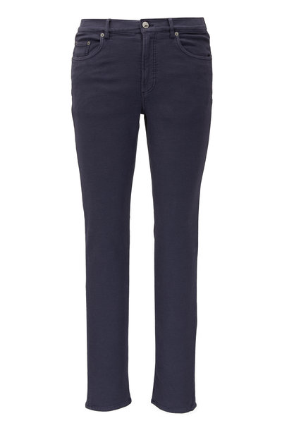 Faherty Brand - Navy Blue Stretch Terry Pant