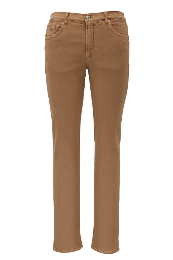 Faherty Brand Khaki Stretch Terry Pant
