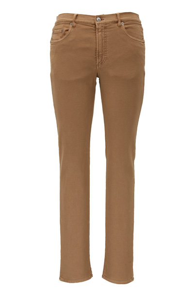 Faherty Brand - Khaki Stretch Terry Pant