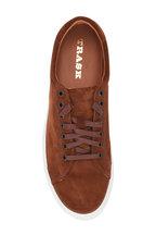 Trask - Rigby Dark Brown Suede Low-Top Sneaker