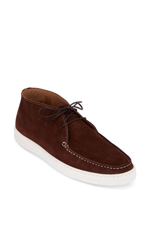 G Brown Koala Brown Suede Chukka Boot