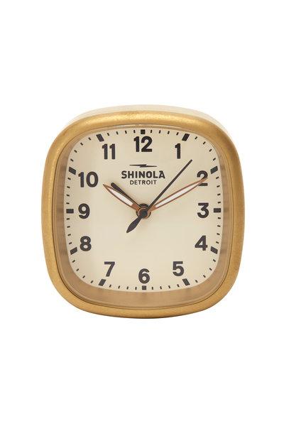 Shinola - Guardian Cream Travel Alarm Clock