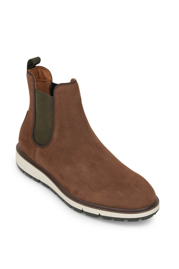Swims Motion Brown Suede Chelsea Boot