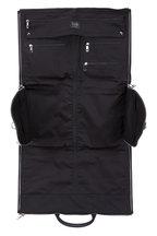 Hook + Albert - Black Leather Weekender Garment Bag