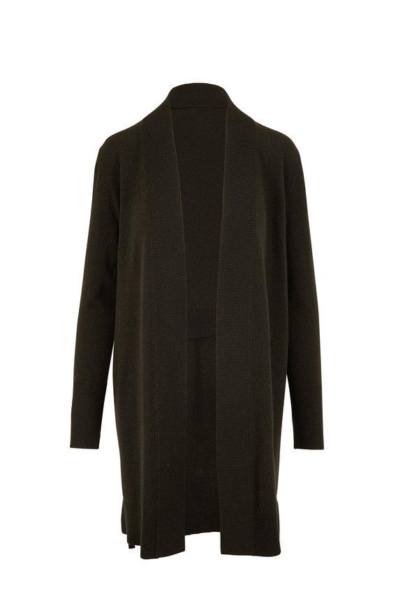 Akris Punto Bamboo Wool & Cashmere Open Cardigan