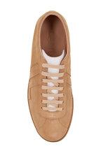 Lanvin - Glen Beige Suede Sneaker