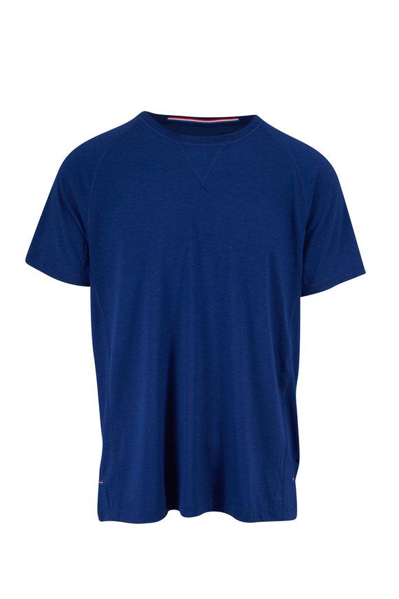 Fourlaps Level Riverstone Blue Tech T-Shirt