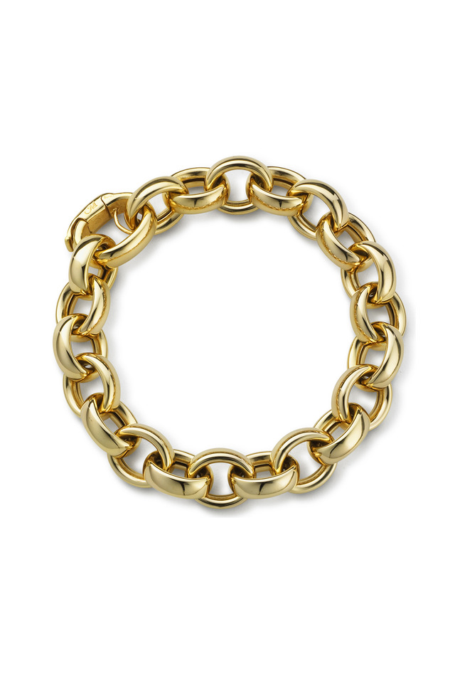 Yellow Gold Ultra Chain Bracelet