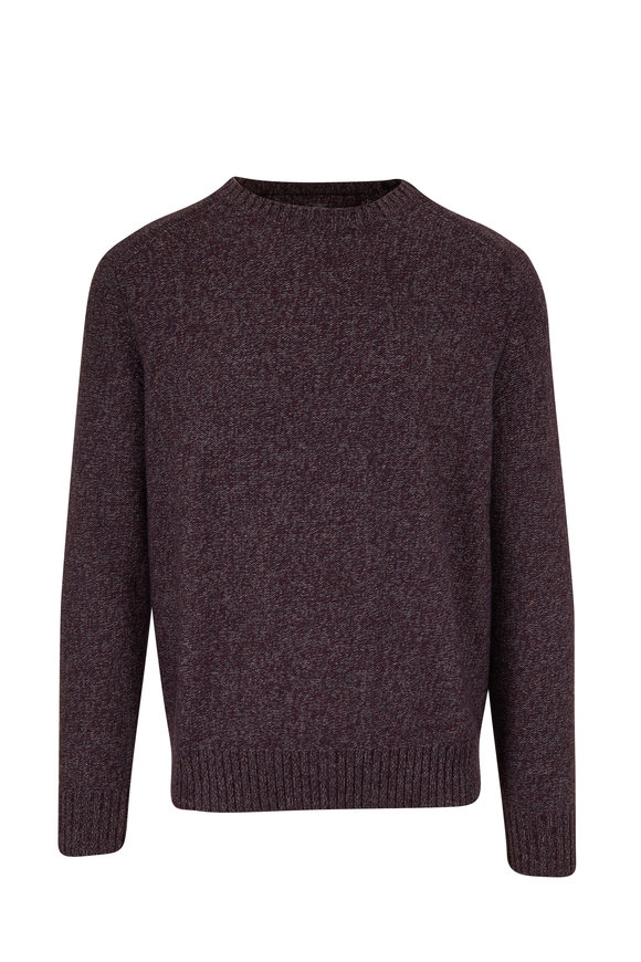 Raffi  Cranberry Crewneck Sweater