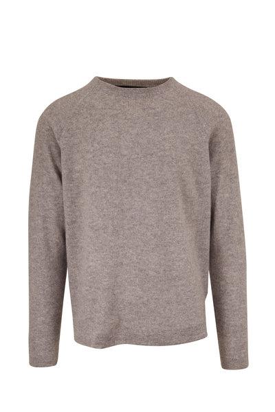 Kinross - Stone Gray Crewneck Raglan Sleeve Pullover