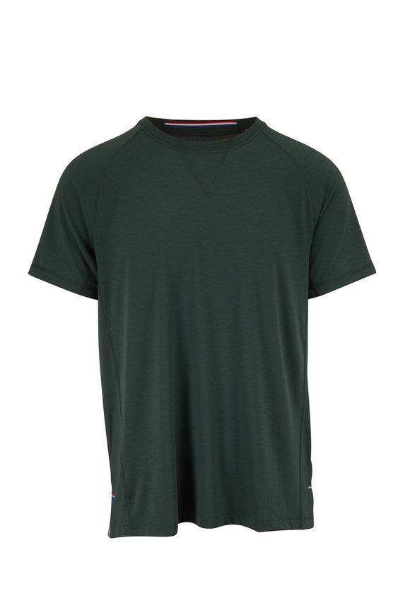Fourlaps Level Hunter Green Short Sleeve T-Shirt