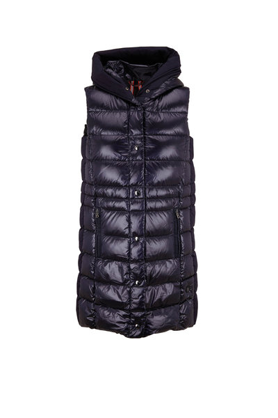 Bogner - Filipa Navy Long Puffer Vest