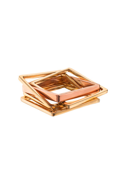 Leslie Paige - Rose Gold Puzzle Ring