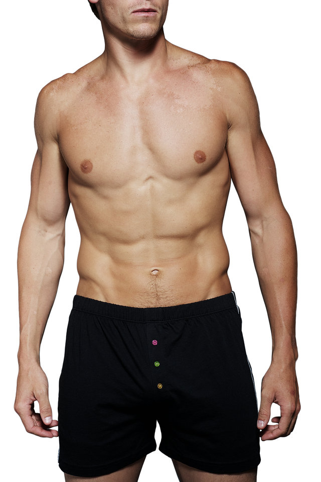 The Willy Black Boxer Shorts