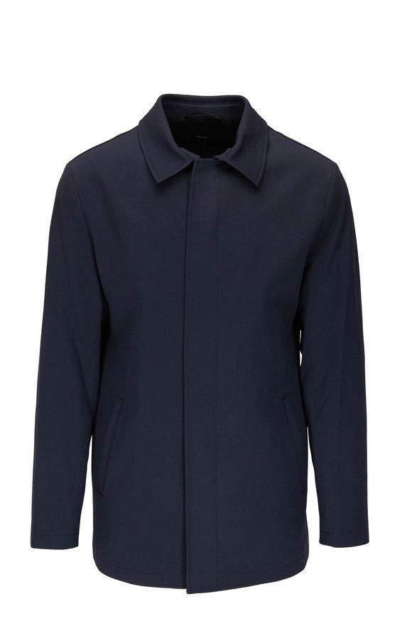 Peter Millar Excursionist Navy Blue City Coat
