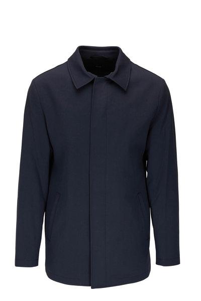 Peter Millar - Excursionist Navy Blue City Coat