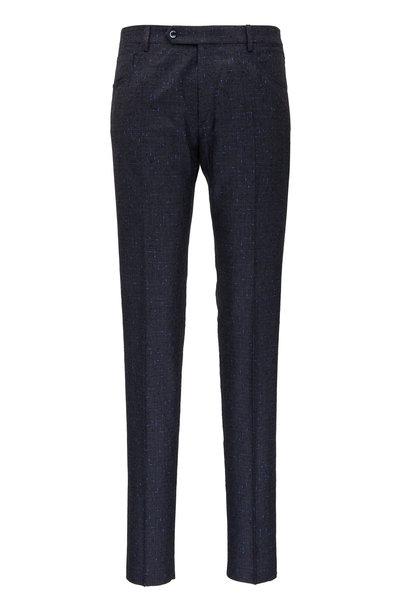Zanella - Curtis Grey Boucle Wool Five Pocket Pant