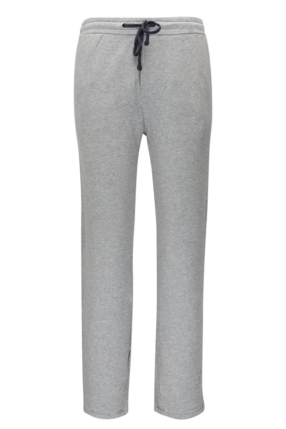 James Perse Classic Gray Cotton Sweatpant