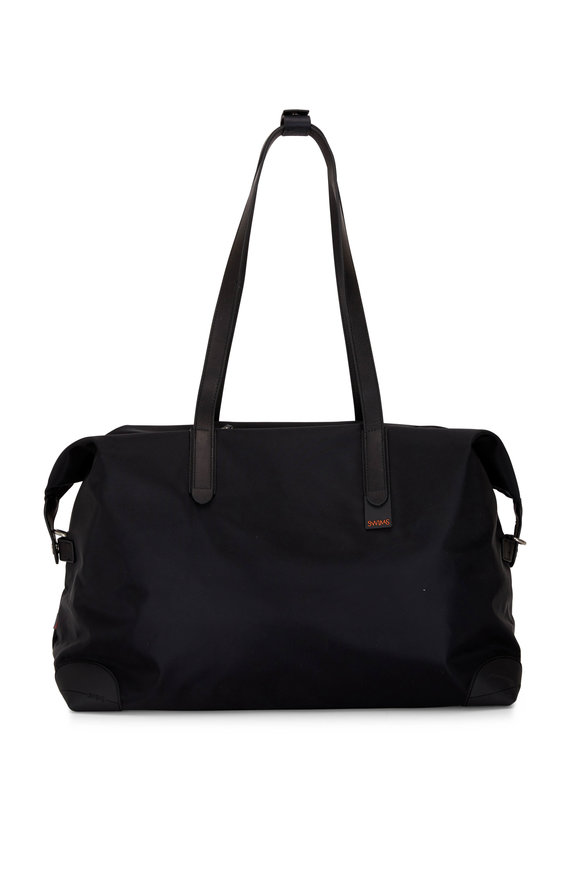 Swims 48-Hour Black Waterproof Nylon Holdall Bag