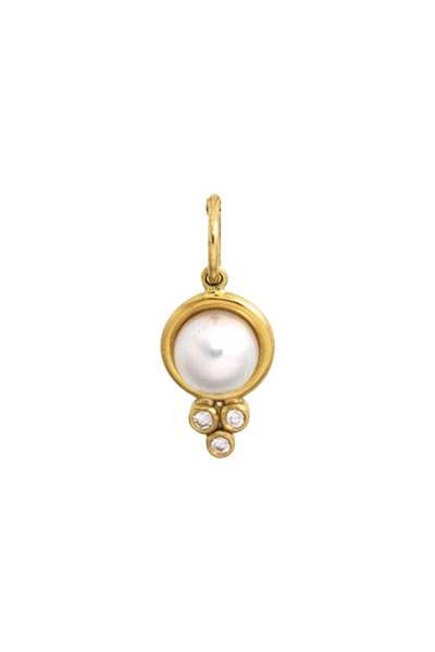 Temple St. Clair - Yellow Gold And Pearl Pendant