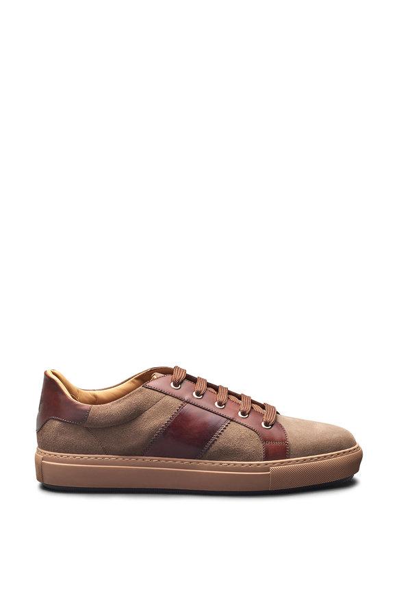 Di Bianco Caserta Cappuccino Suede Sneaker