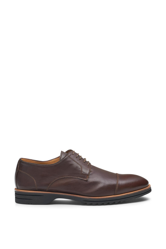 Di Bianco Milano Bracken Leather Lace-Up Shoe