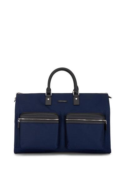 Hook + Albert - Navy Blue Nylon Garment Bag