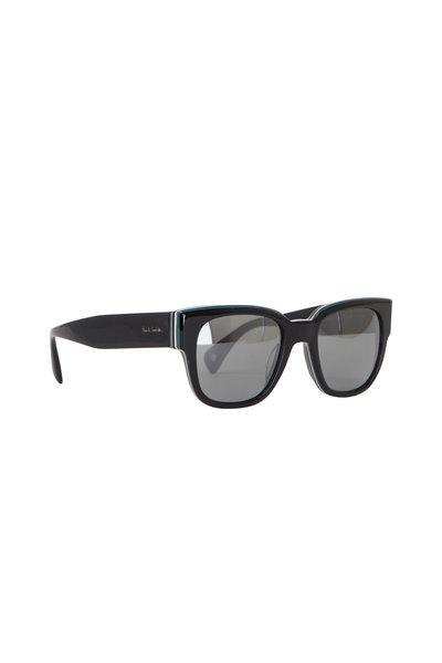 Paul Smith - Black Eamont Deluxe Onyx Stripe Sunglasses