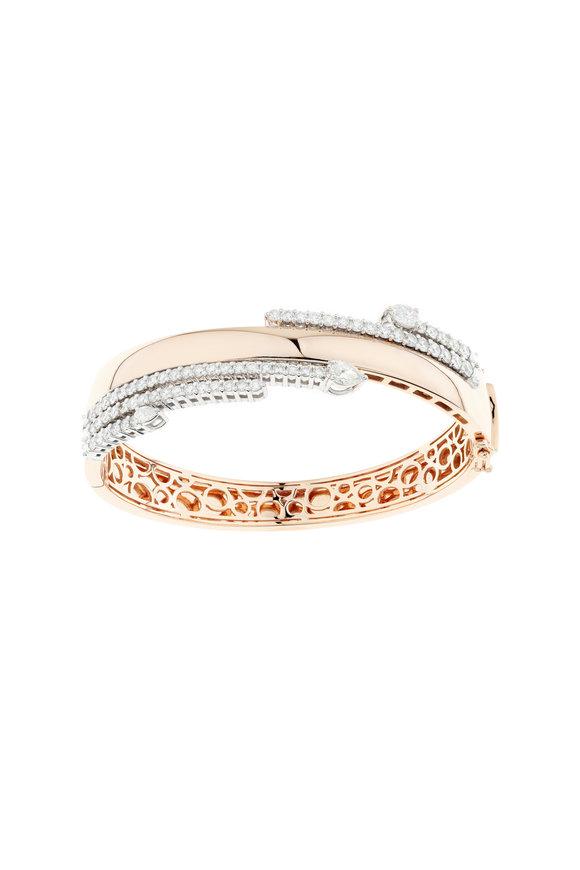 Yeprem 18K Rose Gold Diamond Bracelet
