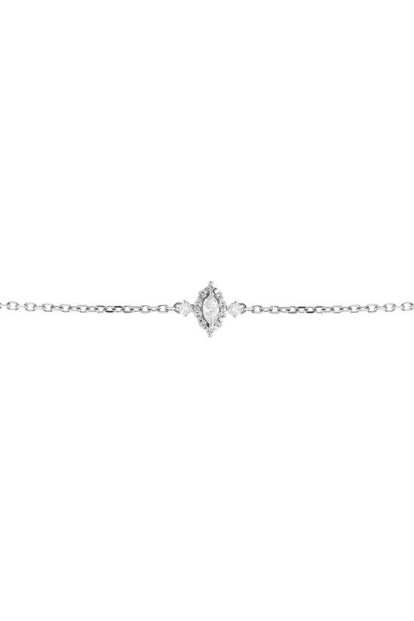 Yeprem 18K White Gold Diamond Pendant