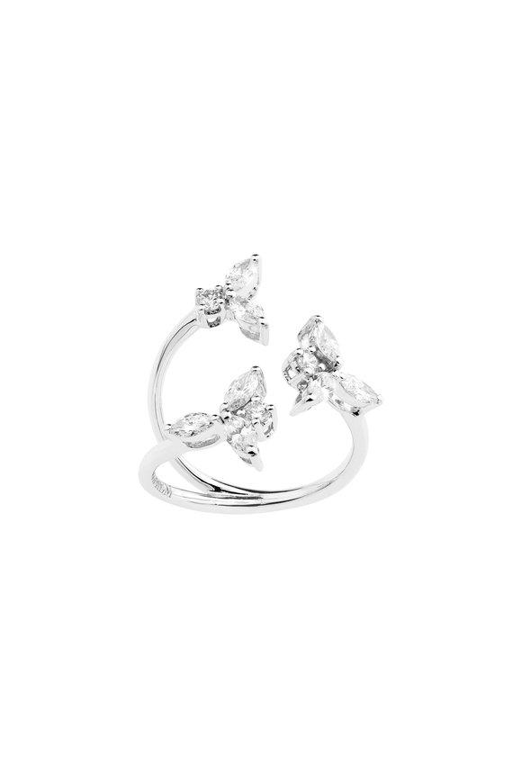 Yeprem 18K White Gold Diamond Ring