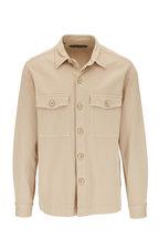 Tom Ford - Beige Cotton Twill Overshirt