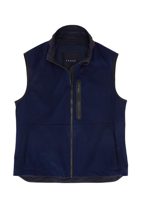 Sease V12 Navy Blue 3-Layer Vest