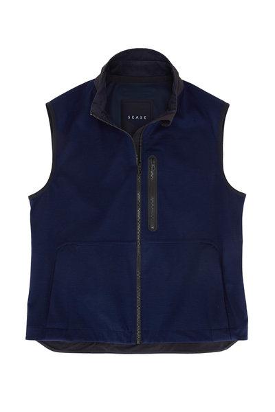 Sease - V12 Navy Blue 3-Layer Vest